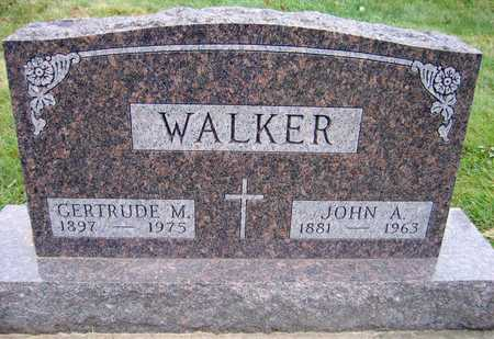 WALKER, JOHN A. - Linn County, Iowa | JOHN A. WALKER