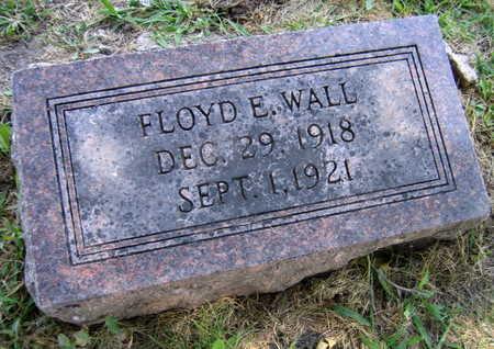 WALL, FLOYD E. - Linn County, Iowa   FLOYD E. WALL