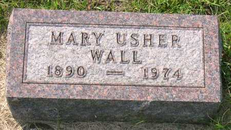 USHER WALL, MARY - Linn County, Iowa | MARY USHER WALL