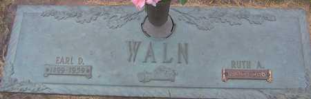 WALN, EARL D - Linn County, Iowa | EARL D WALN