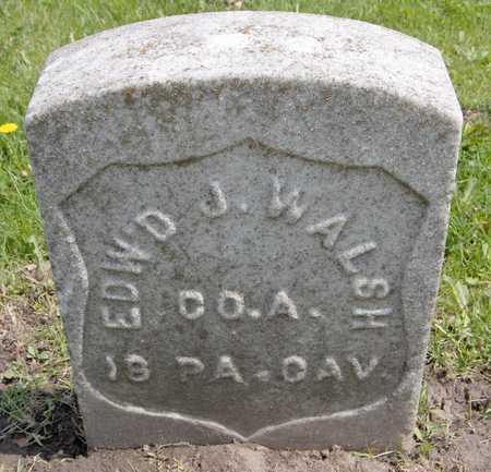 WALSH, EDWARD J. - Linn County, Iowa   EDWARD J. WALSH