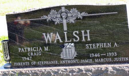 WALSH, STEPHEN A. - Linn County, Iowa | STEPHEN A. WALSH