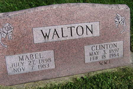WALTON, MABEL - Linn County, Iowa | MABEL WALTON