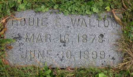 WALTON, ROUIE E. - Linn County, Iowa | ROUIE E. WALTON