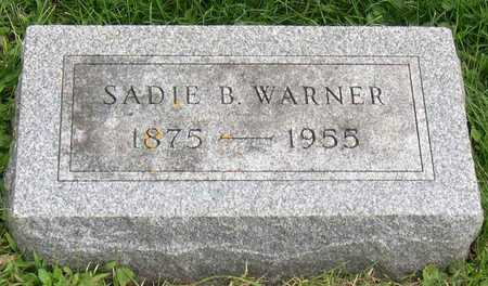 WARNER, SADIE B. - Linn County, Iowa | SADIE B. WARNER