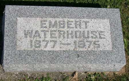WATERHOUSE, EMBERT - Linn County, Iowa | EMBERT WATERHOUSE