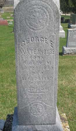 WATERHOUSE, GEORGE ENOCH - Linn County, Iowa | GEORGE ENOCH WATERHOUSE