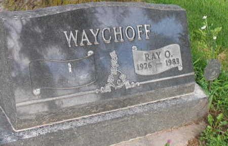WAYCHOFF, RAY O. - Linn County, Iowa | RAY O. WAYCHOFF