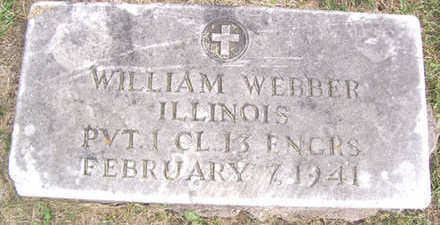 WEBBER, WILLIAM - Linn County, Iowa | WILLIAM WEBBER