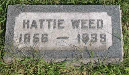 WEED, HATTIE - Linn County, Iowa | HATTIE WEED