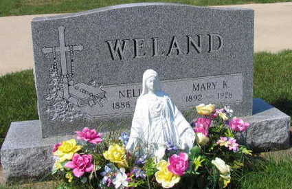 WELAND, MARY K. - Linn County, Iowa | MARY K. WELAND