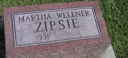WELLNER ZIPSIE, MARTHA - Linn County, Iowa | MARTHA WELLNER ZIPSIE