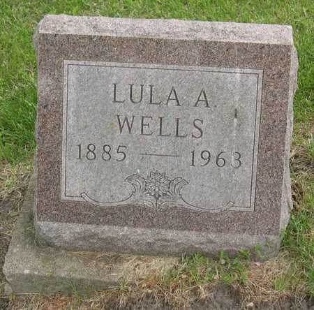 WELLS, LULA A. - Linn County, Iowa | LULA A. WELLS