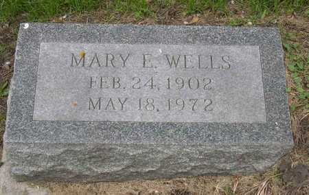 WELLS, MARY E. - Linn County, Iowa | MARY E. WELLS