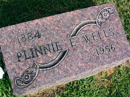 WELLS, PLINNIE E. - Linn County, Iowa | PLINNIE E. WELLS