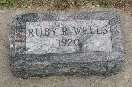 WELLS, RUBY R. - Linn County, Iowa | RUBY R. WELLS