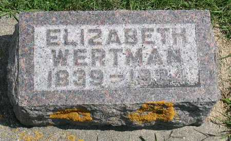 WERTMAN, ELIZABETH - Linn County, Iowa | ELIZABETH WERTMAN
