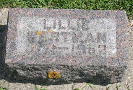 WERTMAN, LILLIE - Linn County, Iowa | LILLIE WERTMAN