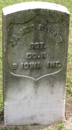 WEST, JAMES K. - Linn County, Iowa   JAMES K. WEST