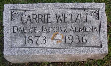 WETZEL, CARRIE - Linn County, Iowa | CARRIE WETZEL