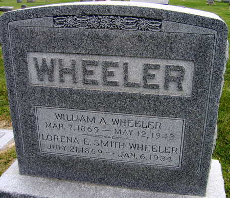WHEELER, WILLIAM A. - Linn County, Iowa | WILLIAM A. WHEELER
