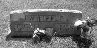WHIPPLE, RAY E. - Linn County, Iowa | RAY E. WHIPPLE