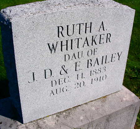WHITAKER, RUTH A. - Linn County, Iowa | RUTH A. WHITAKER
