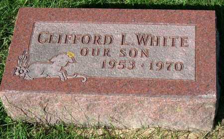 WHITE, CLIFFORD L. - Linn County, Iowa | CLIFFORD L. WHITE