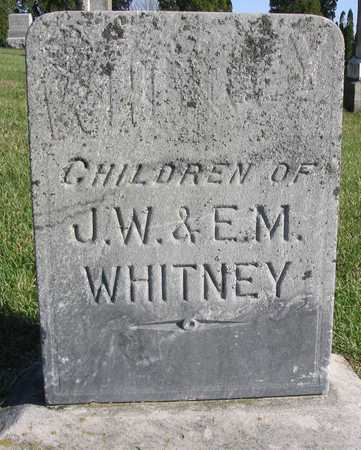 WHITNEY, CHILDREN - Linn County, Iowa | CHILDREN WHITNEY