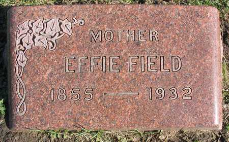FIELD WHITNEY, EFFIE - Linn County, Iowa | EFFIE FIELD WHITNEY