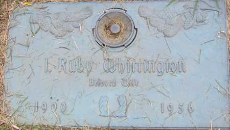 WHITTINGTON, I RUBY - Linn County, Iowa | I RUBY WHITTINGTON