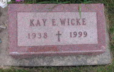 WICKE, KAY E. - Linn County, Iowa | KAY E. WICKE