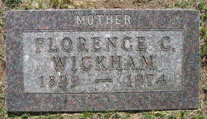 WICKHAM, FLORENCE C. - Linn County, Iowa | FLORENCE C. WICKHAM