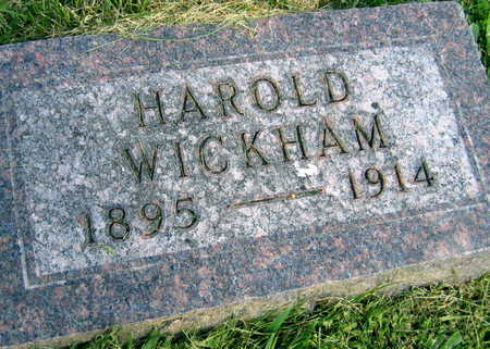 WICKHAM, HAROLD - Linn County, Iowa | HAROLD WICKHAM
