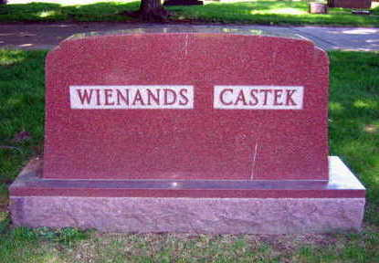 WIENANDS CASTEK, FAMILY STONE - Linn County, Iowa | FAMILY STONE WIENANDS CASTEK