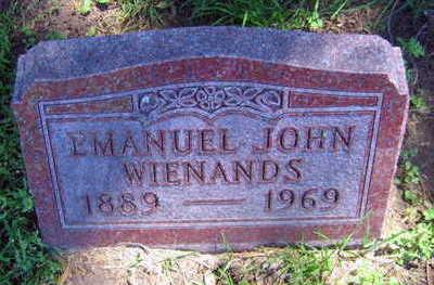 WIENANDS, EMANUEL JOHN - Linn County, Iowa | EMANUEL JOHN WIENANDS
