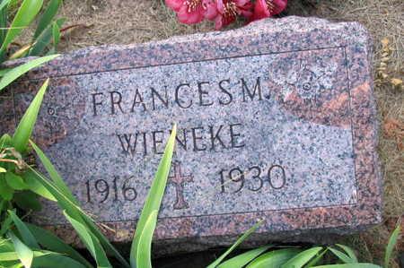 WIENEKE, FRANCIS M. - Linn County, Iowa | FRANCIS M. WIENEKE