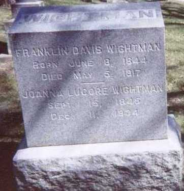 WIGHTMAN, JOANNA - Linn County, Iowa | JOANNA WIGHTMAN