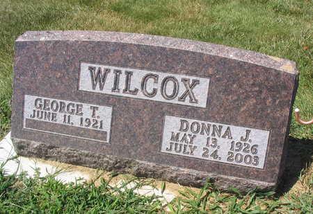 WILCOX, DONNA J. - Linn County, Iowa | DONNA J. WILCOX