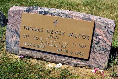 WILCOX, THOMAS DEWEY - Linn County, Iowa | THOMAS DEWEY WILCOX