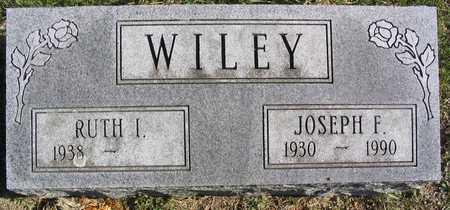 WILEY, JOSEPH F. - Linn County, Iowa   JOSEPH F. WILEY