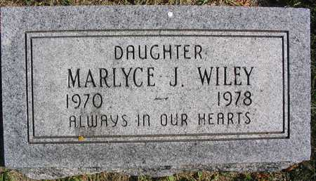 WILEY, MARLYCE J. - Linn County, Iowa | MARLYCE J. WILEY