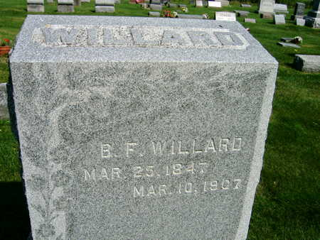 WILLARD, B. F. - Linn County, Iowa | B. F. WILLARD