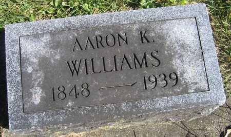 WILLIAMS, AARON K. - Linn County, Iowa | AARON K. WILLIAMS