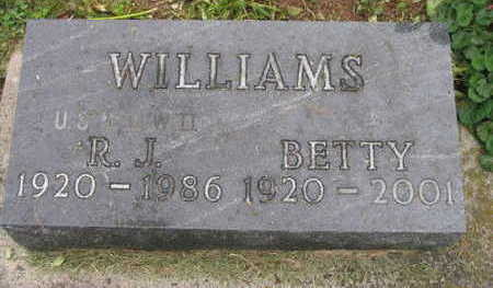 WILLIAMS, BETTY - Linn County, Iowa | BETTY WILLIAMS