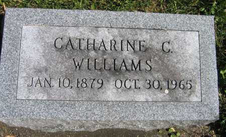 WILLIAMS, CATHARINE C. - Linn County, Iowa | CATHARINE C. WILLIAMS