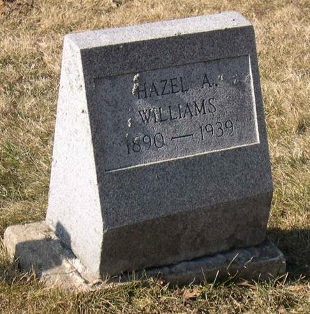 WILLIAMS, HAZEL A. - Linn County, Iowa | HAZEL A. WILLIAMS