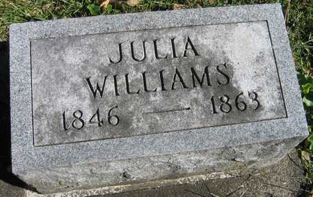 WILLIAMS, JULIA - Linn County, Iowa | JULIA WILLIAMS