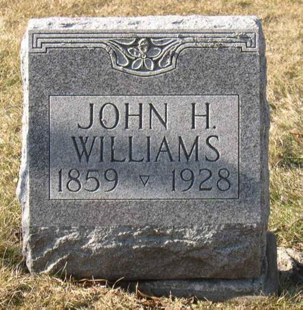 WILLIAMS, JOHN H. - Linn County, Iowa | JOHN H. WILLIAMS