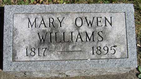 WILLIAMS, MARY - Linn County, Iowa | MARY WILLIAMS